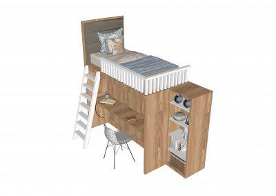 Deskbed-Tumpuk-Tampak-6